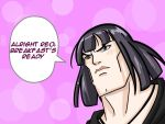 when Mai is serious by coldenic