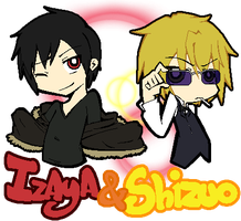 Izaya and Shizuo -PASWG Style- by KirariRinkan