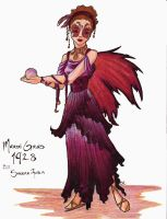 Fairy Queen for Mardi Gras by PlaidTidings