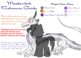 Meadowlark Reference Sheet by Invidlord