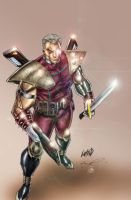 13_Weekly_Cable : Liefeld sketch color by Absalom7