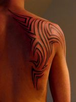 Shoulder Tribal by strangeris