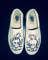 Classic slip ons by daskull