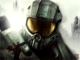 Master Chief by Mouces