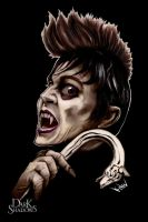 Dark Shadows Contest Barnabas Fauxhawk by ayelid