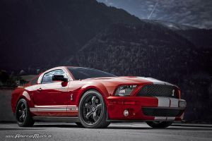 Red GT 500 by AmericanMuscle