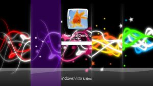 Streamers Vista Logon by MindVisionGraphics