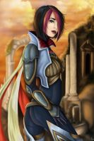 Fiora, the Grand Duelist by JulietEssence