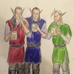 Elves and ale  by mintdr