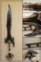 Daedric Greatsword by Sephiroths-Shadow