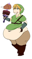 [Chubs:] Lardgend of Zelda: Link to the Fats by ScoIipedes