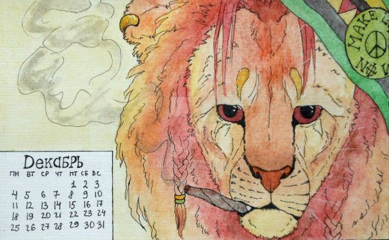 August-Lion by Sparkusha