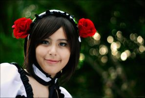 Haruhi Suzumiya: Smile For Me by anney