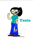 Tania a Zumbi/ Tania the Zombie by GRAFITEBOY
