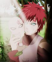 mask Gaara 2 by PolishaSaica