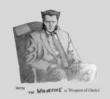 Music video mash-up, Wolverine in Weapon Of Choice by Nick-Perks