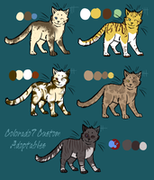Colorado7 Custom Adoptables by Warriors-horse