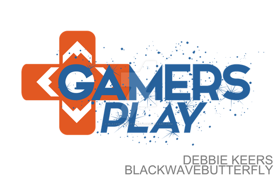 GAMERS PLAY - Logo by BlackwaveButterfly