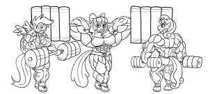 UPDATED: Muscles Are Magic WIP Preview Final by Wobbleblot-Alt