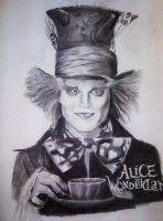 The Mad Hatter-Johnny Depp by Noosha77