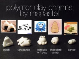 Polymer Clay Creations 2 by MsPastel