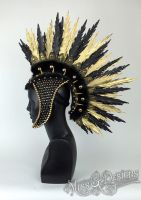 Faux Feather Mohawk by MissGdesigns