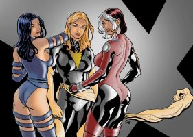 X-men chix by cbuencamino
