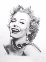 Marilyn by shadesofsunshineart
