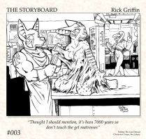 The Storyboard - 003 by RickGriffin
