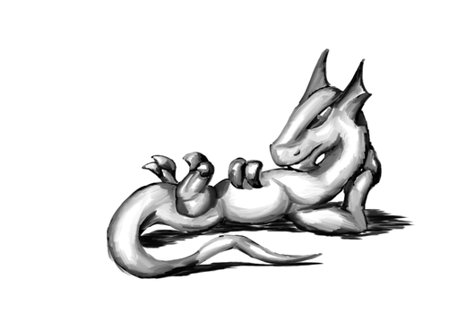 Draw me like one of em French Dragons by Tigerett