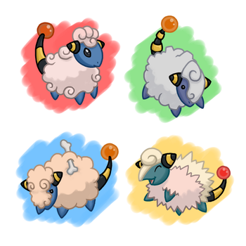 PokeVariant Contest #15: Mareep by Jakzketch
