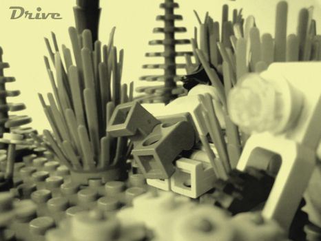 LEGO Love Drive by AlexEastWind