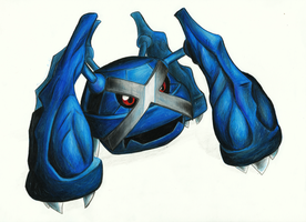 Metagross by The-Spikey-Mouth