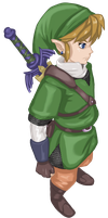 Skyward sword Link by lane-nee-chan