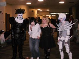 Death Note Ohayocon 2010 by OkamiNinja23