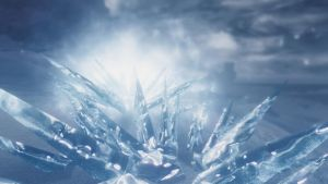 Ice Wraith Attack by lupusmagus