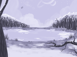 Frozen Forest by Amber100