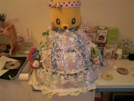 Diaper Cake by carmietee