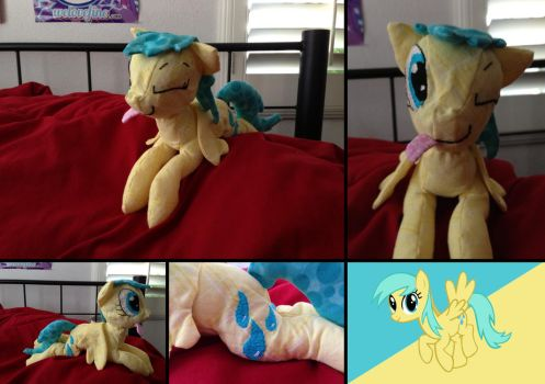 Raindrops Plushie by Ignition4596