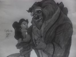Beauty and the Beast by VerdandiSkuld