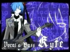 It's KAITO not Kyte by OCVocaloid