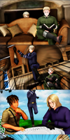 .:Prussia's typical day:. by RussiaRomano