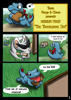 PMD : mission 1 : Pg 1 by Azure-Lizard