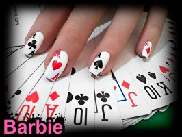 Cards Nails by BarbieNailArt