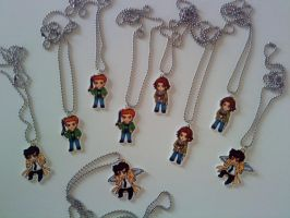 Supernatural Necklaces by SugarTrip