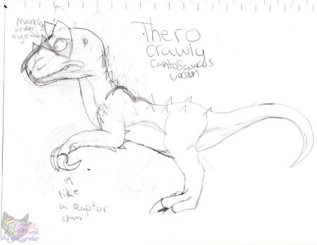 Thero Feature plans sketch by CynderAngelDWOship14
