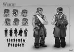 Worth Character Sheet by Skence