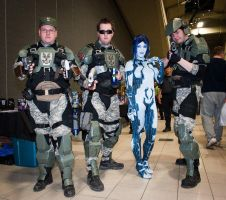 Cortana Costume by msventress