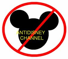 Anti Disney Channel Movement by LiviuSquinky