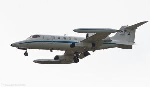 Learjet 35A D-CARL by Thunderbolt120
